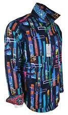 NEW Robert Graham $248 DOSFORD Ocean Fish Embroidered Classic Fit Sports Shirt