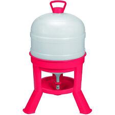 Little Giant 8 Gallon Tank Heavy Duty Poultry Chicken Gravity Waterer Open Box
