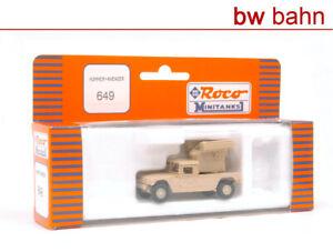 Roco Minitanks H0 649 Hummer Avenger US Army desert storm
