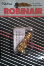 """Robinair Straight Access Adapter 1/4"""" FFL x 1/4"""" MFL  # 40560A NEW!"""