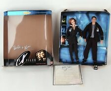 Barbie & Ken X-Files Box Set 1998 Collector Edition Scully Mulder COA 19630