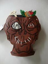 Disney Loungefly Trader Sam's Enchanted Tiki Room Zombie Shrunken Head Purse Bag