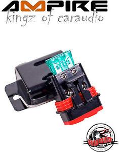 Ampire XSM10 Wasserdichter Sicherungshalter Set 6/10mm² mit ATC Sicherung