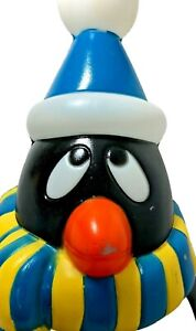"""GENERAL FOAM 28"""" Vintage Penguin Lighted Blow Mold Chilly Willy Holiday Decor"""