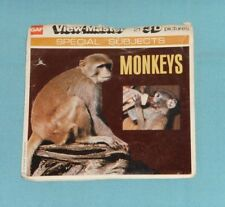 vintage MONKEYS VIEW-MASTER REELS packet with booklet