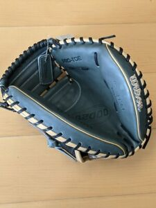 GRS-2018 WBRB19PF33 A2000 Wilson PF33 RHT 33 Inch Catchers Mitt Baseball Glove