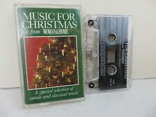 Selection Music For Christmas, Xmas Cassette Tape, Woman & Home. Excellent Cond.