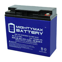 Mighty Max 12V 18AH GEL Battery Replacement for Teledyne 2IL12S15, H2BR12S15