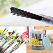 Lots 2B/HB Black Lead Refills 0.5/0.7mm Case For Automatic Mechanical Pencil