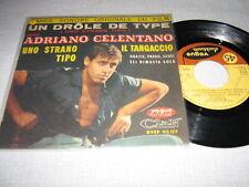 ADRIANO CELENTANO EP FRANCE UN DROLE DE TYPE