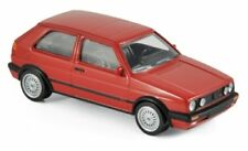 NOREV 840062 - 1/43 SCALE VOLKSWAGEN GOLF GTI G60 1990 RED MODEL CAR
