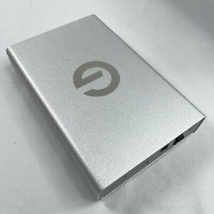 G-Technology G-DRIVE 10 TB 195 MB/s w USB 3.0 / USB-C Silver - NEW RRP £320 A50