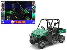 2008 YAMAHA RHINO 700 F1 4 x 4 OFF-ROAD GREEN 1/12 DIECAST MODEL NEW RAY 43253