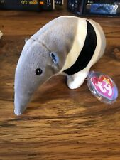 Rare Beanie Babies Ants The Anteater Ty Excellent Condition