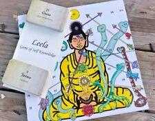 Leela Spiritual Chakra  Board Game of Self Knowledge/Yoga Philosophy Unique gift