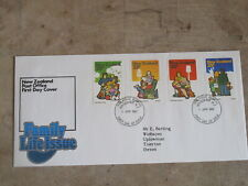 1981 First Day Cover/ FDC - New Zealand - Family Life issue