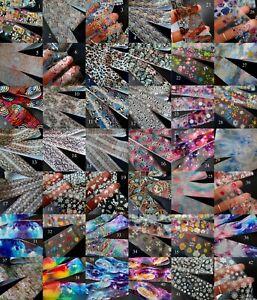 Nail Art Transfer Foil, Nail Foil Foils, Snakeskin Animal Flower Xmas Marble, UK