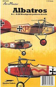 AeroMaster Albatros D.I  D.III Wood Grain Decal AN72234