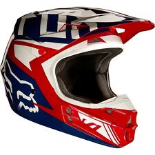 2017 FOX V1 Falcon Red and White Motocross MX/ATV Helmet Adult XL