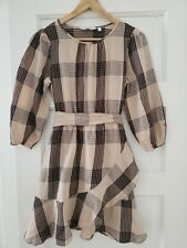 & Other Stories Plaid Dress Size 4
