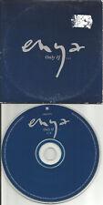 ENYA Only If RARE CARDED SLEEVE EUROPE Press PROMO DJ CD Single USA Seller 1997