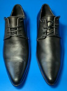 KENZO men's laced shoes, Black leather size 9,5 made in france