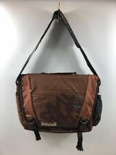 Timberland Chocolate Brown Messenger Bag Laptop Case Padded 18 x 13