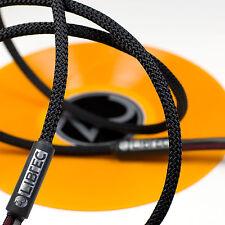 ZU AUDIO - LIBTEC 10ft [3.0m] Hi-Fi Loudspeaker Cables Matched Pair / NEW