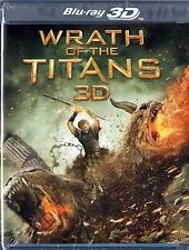 Wrath of the Titans (Blu-ray 3D + 2D)    BRAND NEW
