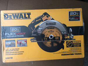 "NEW DeWalt 20V 7.25"" Circular Saw DCS573 FlexVolt Advantage Tool Only BRUSHLESS"