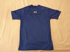 Mens Under Armour Shirt S Small Blue Athletic