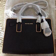 Michael Kors Specchio Dillon LG NS Top Zip Saffinao Leather Satchel 30H5GUBS7L