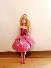 Mattel Barbie Princess Charm School Blair Doll - working dress transformers