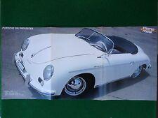 (M65) Poster 60x28 cm , PORSCHE 356 SPEEDSTER + GERALDINE sexy da Starter