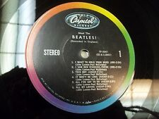 MEET THE BEATLES 50 YEARS OLD ORIGINAL STEREO HOLLYWOOD PRESS #6 3BMI CLEAN