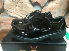 Thorogood Men's US 7.5 Poromeric Oxford High Gloss Leather Black Shoes 831-6031