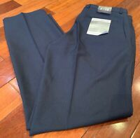 MENS HEATHER BLUE GREG NORMAN  TRAVEL GOLF PANTS LUXURY MICROFIBER VARIETY SIZES