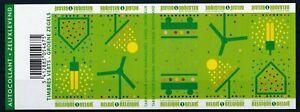 [G11235] Belgium 2009 Ecology good sheet very fine imperf