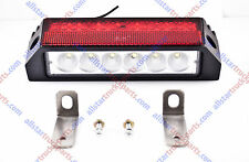 36 LED Combination Stop Turn Tail & License Plate Light Red White Trailer Truck
