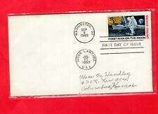 USA, First Man on the Moon FDC, dual Postmarks (790