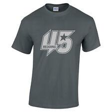 Scott Redding 45 MOTOGP Rider Equipo PRAMAC Camiseta PLATA texto