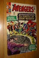 AVENGERS #13 COUNT NEFARIA  NICE 9.0 WHITE PAGES