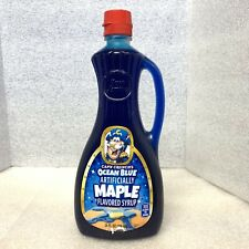 Captain Cap'n Crunch Ocean Blue Maple Flavored Pancake Syrup Sold Out!