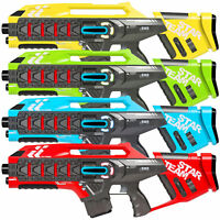 BCP Set of 4 Kids Infrared Blaster Laser Tag Toys w/ Life Tracker