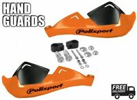 KTM 450 EXC Enduro Racing EU 03-12 Motorcycle Orange Handguards Polisport