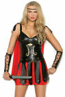 Elegant Moments Womans Gladiator Spartan Costume Halloween Outfit S M L XL