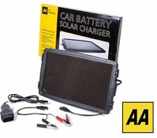 AA Essentials 12V Solar-Powered Car Battery Charger Solar Panel OBD Version