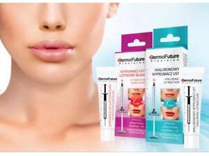 DermoFuture Precision Hyaluronic lip Acid Glass Glow,Hyaluronic Lip Injection
