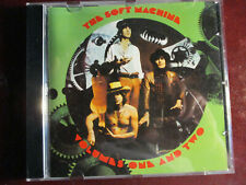 """ROCK CD: THE SOFT MACHINE """"VOLUMES ONE AND TWO"""" 1989 BIG BEAT (UK) 2 LPs ON 1 CD"""