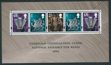 2006 GB NEW WELSH ASSEMBLY BUILDING MINISHEET FINE MINT MNH SG MS W143